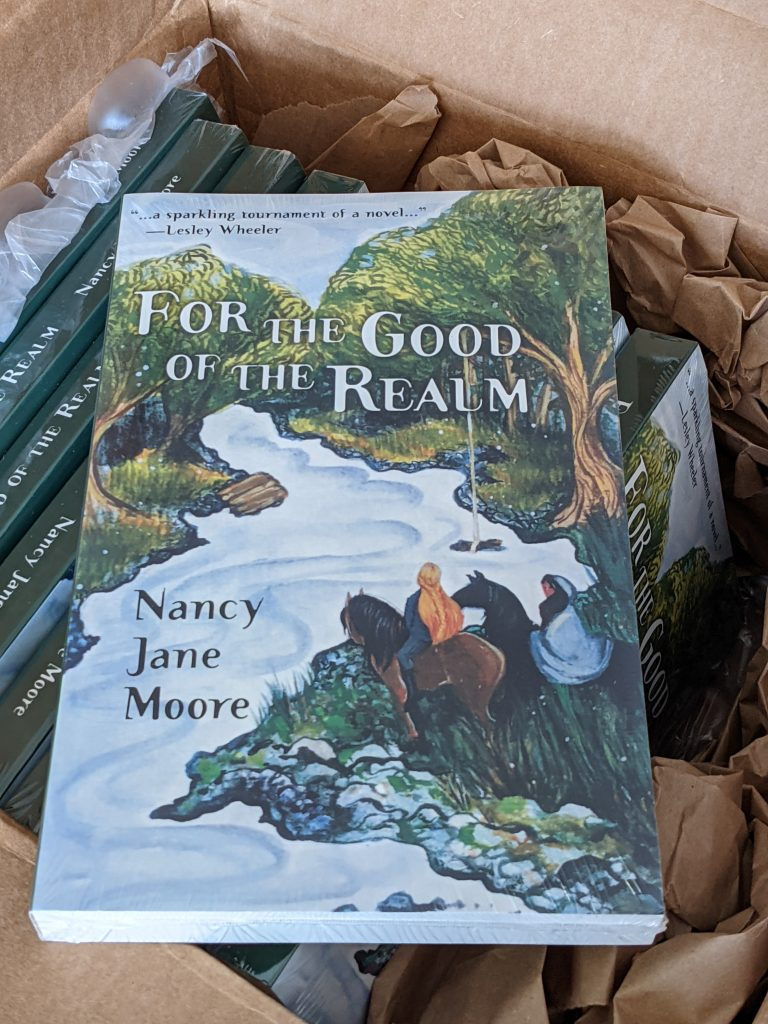 For the Good of the Realm author's copies