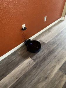 home vacuuming robot